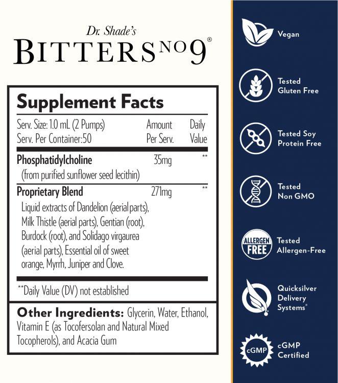 Bitters No 9