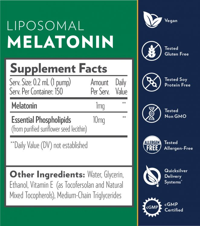 Liposomal Melatonin