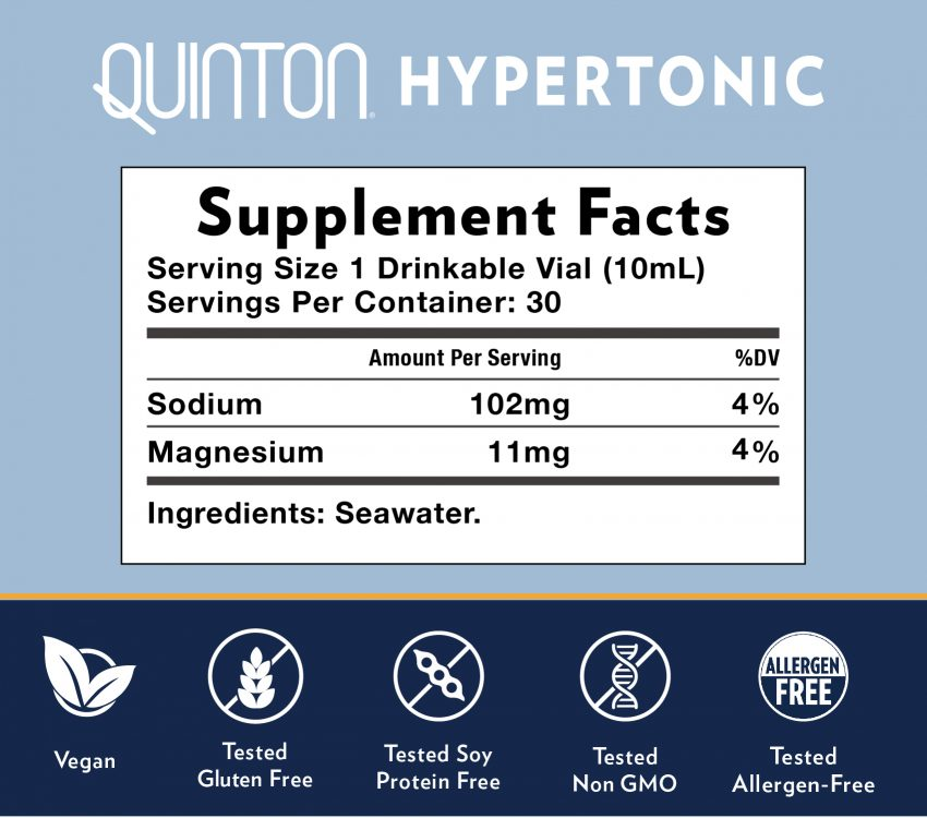 Quinton Hypertonic 30