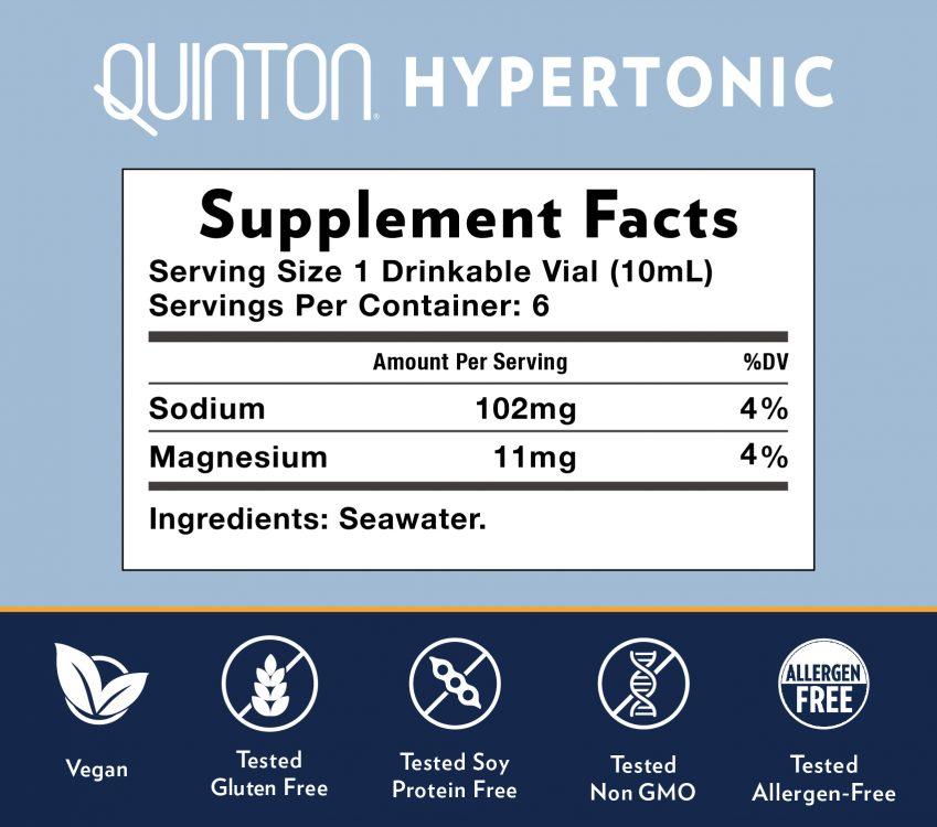 Quinton Hypertonic 6