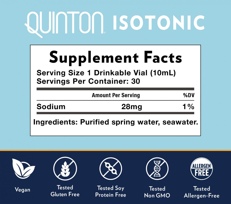 Quinton Isotonic 30