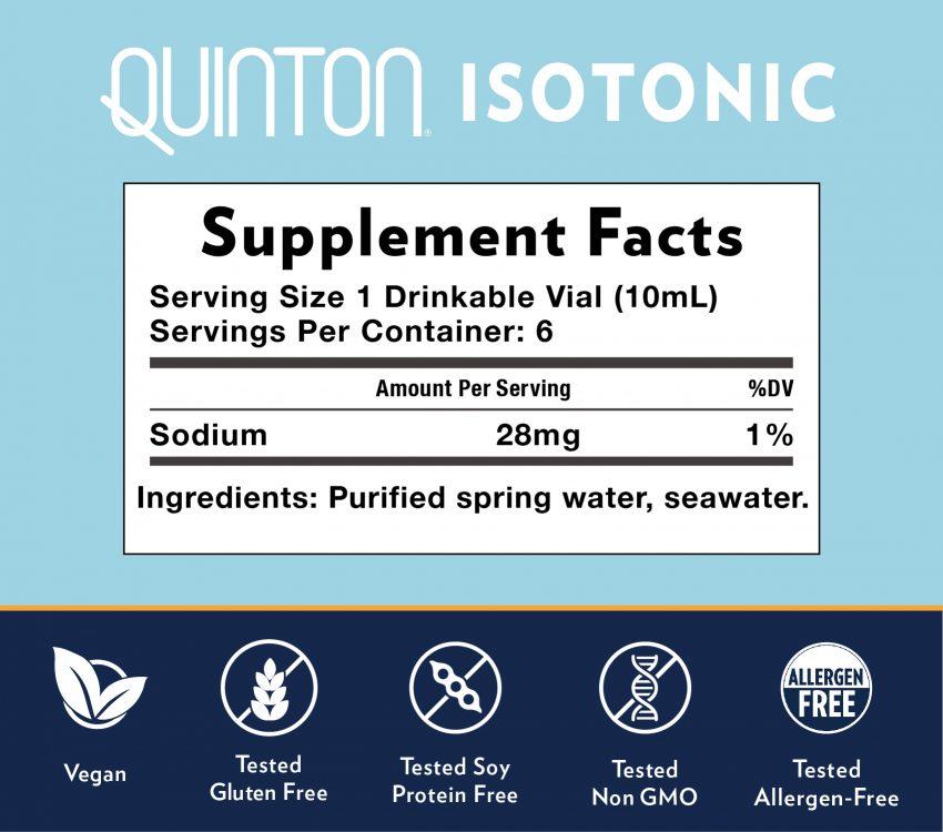 Quinton Isotonic 6
