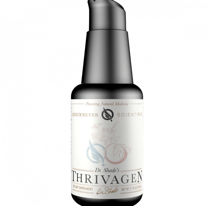Thrivagen, the Herbal Elixir for Total Woman's Well Being