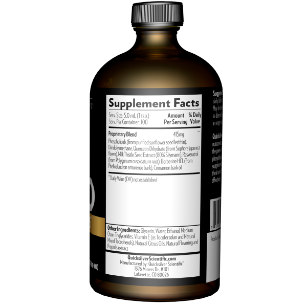 Keto-Before 6 500ml Supplement Facts