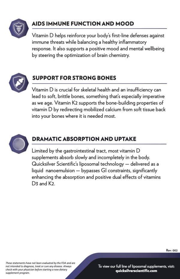 D3K2 Benefits