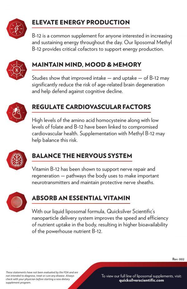 Methyl B-12 Benefits