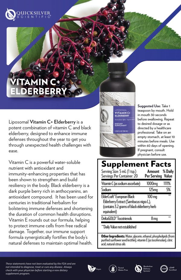 Vitamin C+ Elderberry